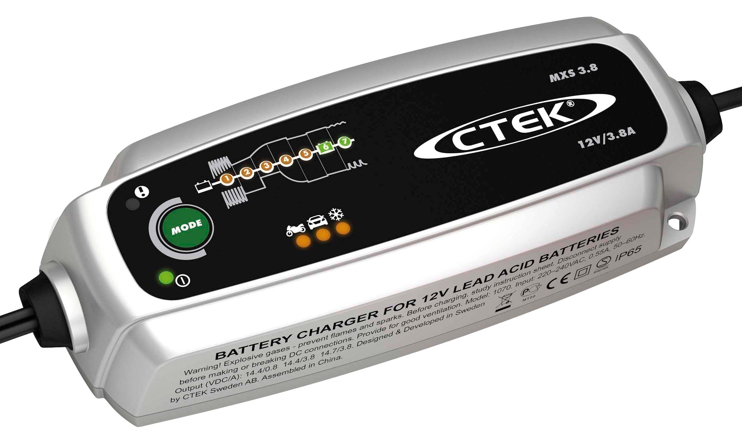 Batteriladdare och starthjälp