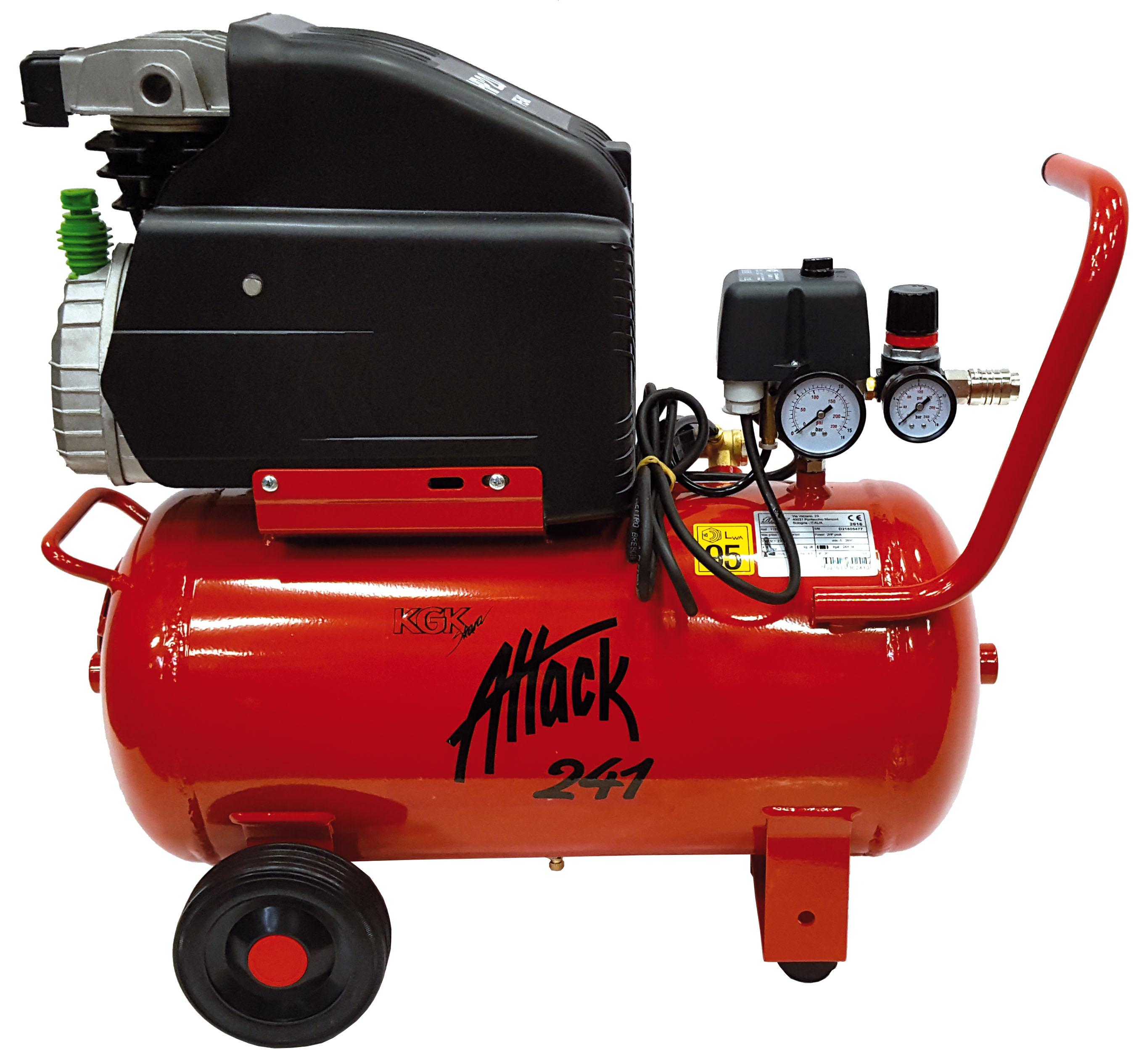 Kompressorer och tryckluftstillbehör